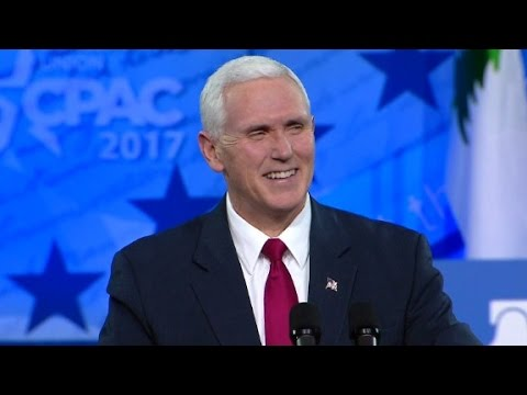 Vice President Mike Pence's full CPAC speech