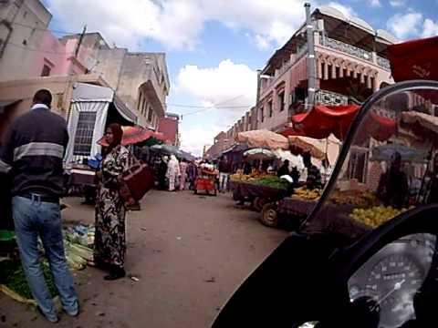 Marrocos – Mercado de Rua