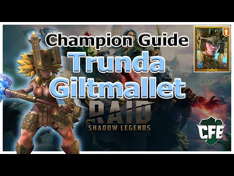 RAID Shadow Legends | Champion Guide | Trunda Giltmallet