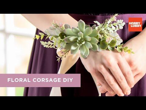 DIY Corsage | Hobby Lobby®