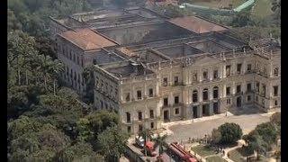 Sistema de câmeras indica onde começou o incêndio no Museu Nacional
