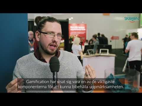 """""""Varför ska jag som lärare bry mig om gamification?"""" med Adam Palmquist från Insert Coin"""