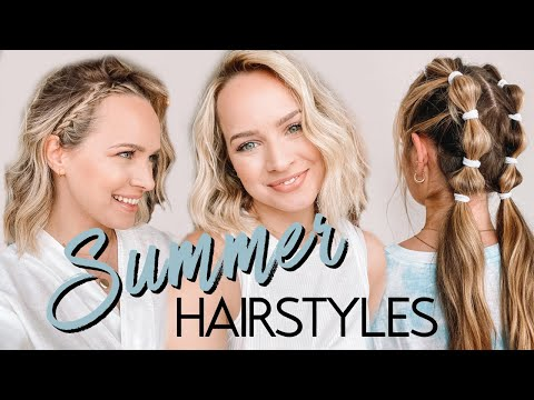 Summer hairstyles you NEED in your life! – Kayley Melissa