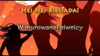 Weselne Hity - W murowanej piwnicy - Muzyka Biesiadna   całe utwory + tekst piosenki