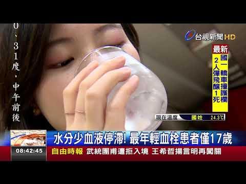 水喝得不夠多!血栓患者年齡下修至25歲 - YouTube