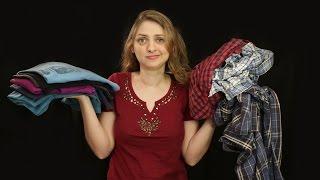 O jeito mais fácil e rápido de dobrar uma camiseta (dobrar camiseta em 1 segundo)