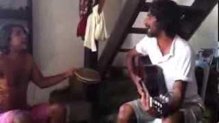 Encontro, som e cachaça .. Og e Toinha cantam José Kleber na casa da Tianinha