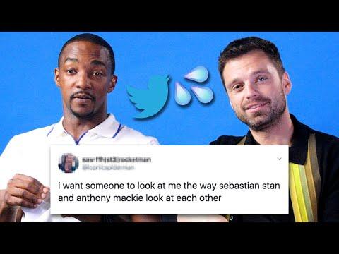 Sebastian Stan And Anthony Mackie Read Thirst Tweets