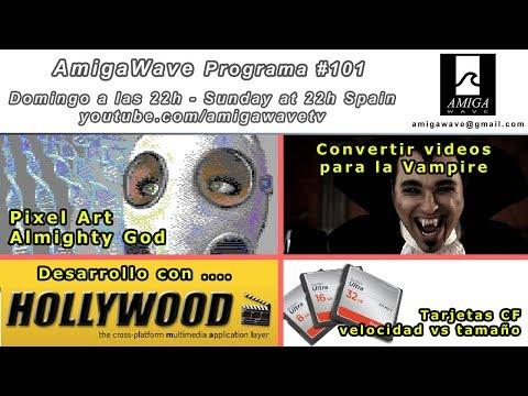 Programa 101 - Pixel Art con Almighty God, desarrollo con Hollywood, CF speed vs size ...