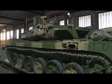 Russian Army receives new batch of upgraded T-90M tanks