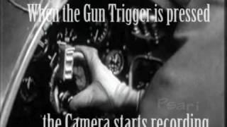 Spitfire  Gun camera actual combat footage - Battle of Britain - RAF