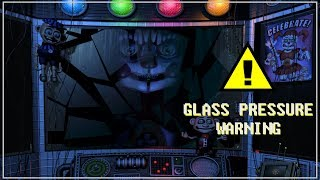 Circus Baby breaks the glass easter egg?! (FNaF SL)
