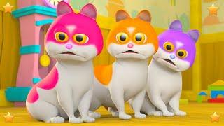 Three Little Kittens Part 2 | Kindergarten Nursery Rhyme & Song for Kids by Little Treehouse S03E143