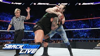 Randy Orton vs Aiden English: SmackDown LIVE, July 4, 2017