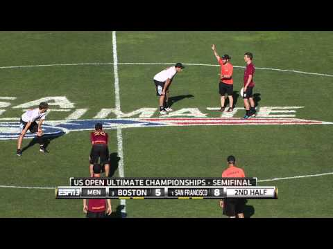 Video Thumbnail: 2014 U.S. Open Club Championships, Men's Semifinal: San Francisco Revolver vs. Boston Ironside