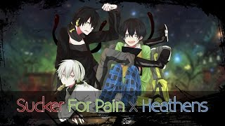 Nightcore - Heathens x Sucker For Pain (Mashup) (Switching Vocals)