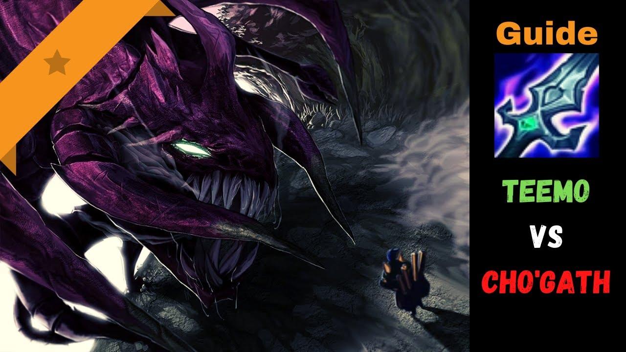 ipav999 - [Guide] Teemo vs Cho'Gath