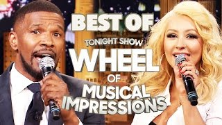 4 Most Entertaining Wheel of Musical Impressions w/ Jimmy Fallon