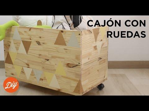 IDEA DIY: Crea un cajón con ruedas con BLACK+DECKER™