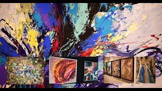 """Living 4 ART : """"Le rêve en couleurs"""", une exposition collective à Casablanca"""