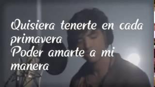 Agustín Bernasconi QUISIERA (CNCO) ft. Julian Serrano, Maxi Espindola I Live Session (letra)