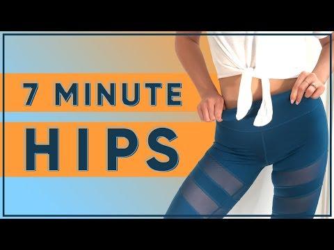 7-Minute Hip Sculpting Workout
