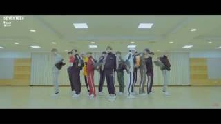 Seventeen boomboom choreography front ver reverse