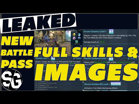 RAID SHADOW LEGENDS | LEAKED BATTLE PASS 1.16 UPDATE FULL SKILLS & IMAGES