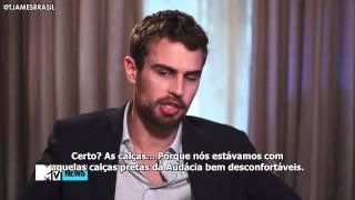 """Legendado: Theo James fala sobre como foi filmar a cena de sexo de """"Insurgente"""""""