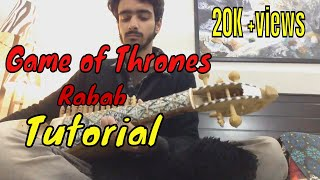 Game of thrones Rabab tutorial