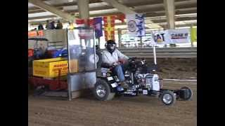 Wildcat Pulling Team 2nd at the 2013 Int'l 1/4 Scale Tractor Student Design Competition