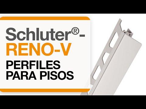 Cómo instalar una transición de baldosas en pisos: Schluter®-RENO-V