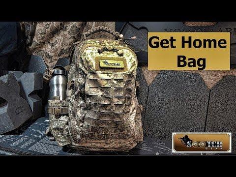 Get Home Bag for SHTF