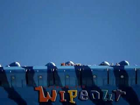 Dreamworld the WIPEOUT ride…. 2008