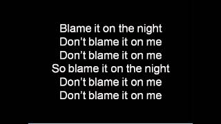 calvin harris - blame (text, Lyrics)