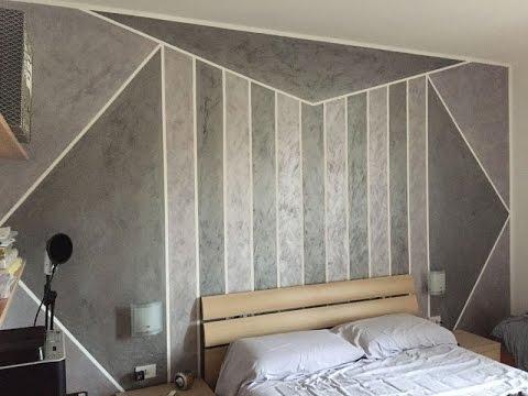 Come dipingere una parete con motivi geometrici fai da for Decorare un muro