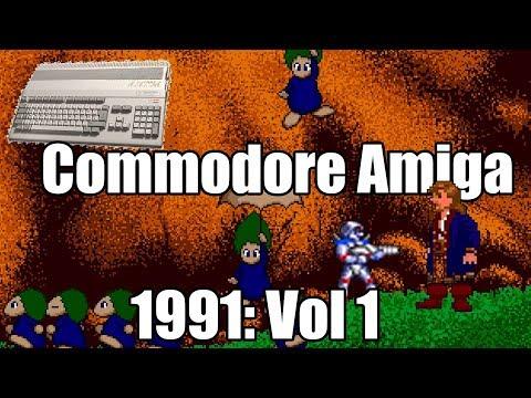 Lunes Commodore: Amiga Año 1991
