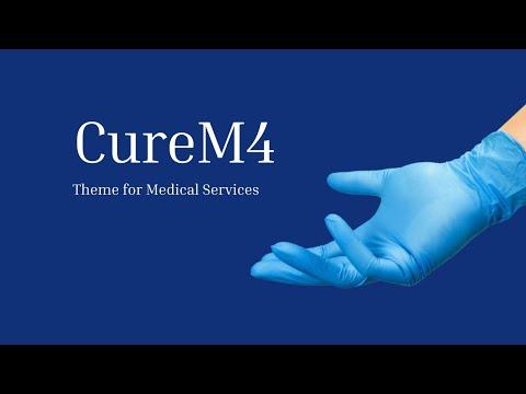 Mobirise Theme for Medical Websites   CureM4