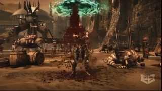 "@RichieBranson Mortal Kombat X Fatality Trailer & Rap Song - ""Finish Him"""