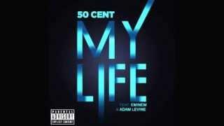 50 Cent - My Life ft. Eminem, Adam Levine clean version