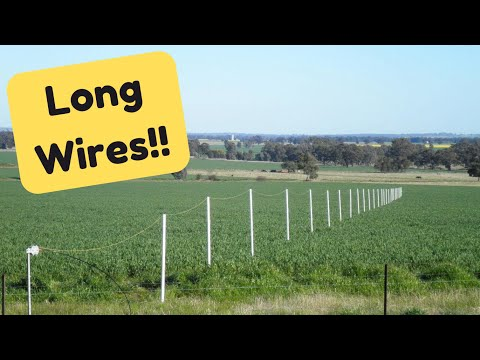 What is the Advantage of using a Long Wire Antenna?