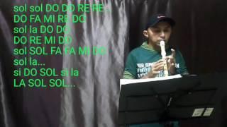 Flauta Doce Aline Barros- Sonda me