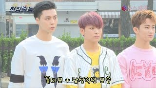 enewstv ′체리밤′으로 컴백 NCT 127, 귀염+터프 매력발산 출근길 모습 151119 EP.1
