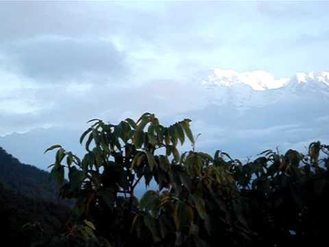 Nepal Pokhara Sarankot 08 マチャプチャレ