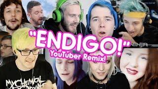 """ENDIGO!"" | YouTubers Remix (PewDiePie, DanTDM, Ninja + more!)"