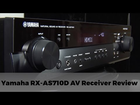 Yamaha RX-AS710D AV Receiver Review