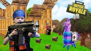 Nerf War:  Fortnite Battle Royale In Real Life width=