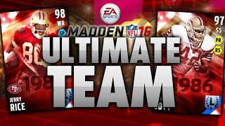 TWO LEGEND PULLS! HOW IS THIS POSSIBLE?! Madden 16 Ultimate Team