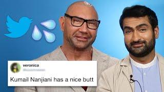 Dave Bautista And Kumail Nanjiani Read Thirst Tweets