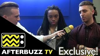 Qassim Middleton & Nick Fradiani Backstage @ American Idol Top 12 | AfterBuzz TV